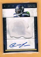 2012 Prominence Robert Turbin Autograph Rookie /150 Seattle Seahawks RC