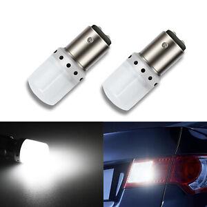 A1 AUTO 2x 1157 2357 Xenon 6000K White 9-SMD LED Bulb Back up Reverse Tail Light