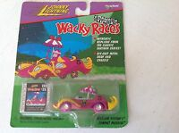 JOHNNY LIGHTNING  - WACKY RACES - PENELOPE PITSTOP - COMPACT PUSSYCAT , rare
