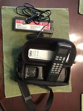 OKI Telecom Mobile Cell Brick Phone Case Car Charger Battery Vintage untested