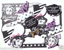 America USA Movie Cinema Film Ribbon Flake Sticker 52 Scrapbook MIND WAVE JAPAN