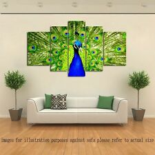 Not Framed Modern Home Decor HD Canvas Print Animals Peacock Wall Art Pictures