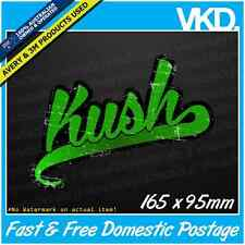 Kush Sticker/Decal - 420 Bong Bogan Weed Ute 4x4 Smoke High Ganja Dope Marijuana