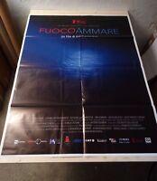 FUOCOAMMARE Manifesto Film 2F Poster Originale Cinema 100x140 ROSI