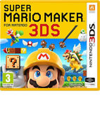 SUPER MARIO MAKER NINTENDO 3DS BRAND NEW FAST DELIVERY