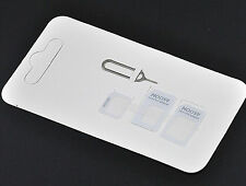 Universal Nano Micro Mini Sim Card Adapter Converter To Standard Sim For iPhone