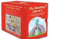 Usborne My Reading Library 50 Books Gift Set Collection Level 3 to 6 Free Post