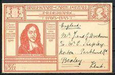 JOHAN DE WITT BRIEFKAART BAARN 11.VIII.1926 BEXLEY, KENT, ENGELAND    Mt331