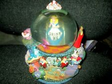 "Disney Alice in Wonderland Drink Me Snow Globe ""All in the Golden Afternoon"""