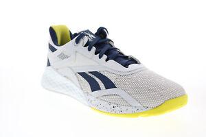 Reebok Reebok Nano X FV6766 Womens Gray Mesh Athletic Cross Training Shoes