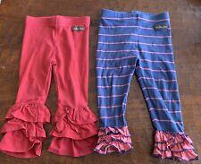 Matilda Jane Ruffle Legging And Red Benny Legging Girls 18-24 Month