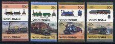 Vaitupu Tuvalu MiNr. 37-44 postfrisch/ MNH Lokomotive (Eis425