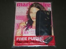 2001 JULY MARIE CLAIRE UK EDITION MAGAZINE - FREE PURSE GIFT INCLUDED - A 1950