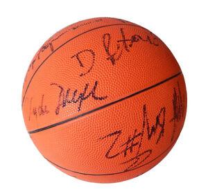 1989-90 Portland Trail Blazers Signed Basketball 14 Autos JSA Petrovic Drexler
