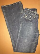 Refuge Ladies Size 9 Low Rise Bootcut Blue Jeans