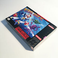 Brand New! Mega Man X made in Japan 1st release Factory sealed Nintendo NES SNES