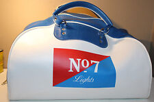 No. 7 Lights Tobacco Cigarettes Vintage Advertising Leather Duffle Bag