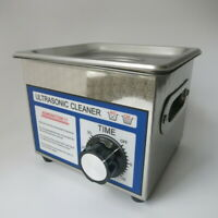 110 220V Stainless Steel 1.3L Ultrasonic Cleaner 60W for Cleaning Watch Jewelry