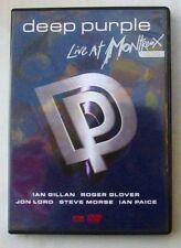 DVD DEEP PURPLE - LIVE AT MONTREUX 1996