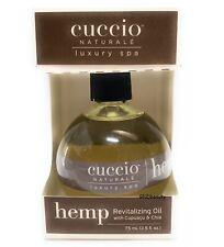 Cuccio Naturale HEMP Revitalizing Oil with Cupuacu and Chia 2.5 oz (75 ml)