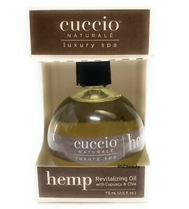 Cuccio Naturale HEMP Revitalizing Oil with Cupuacu and Chia 2.5 oz (75 ml)