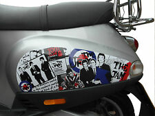 Side Panel Stickers fits Vespa ET2 ET4 LX Scooter - The Jam Mod Decal SP12