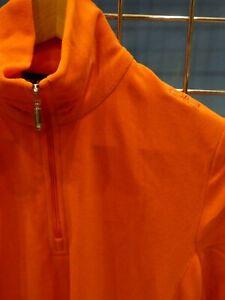 Female Ski Microfleece Top. CMP Arctic Range. Orange *excess stock* Size 14