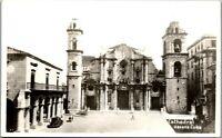 Havana Habana Cuba Cathedral vintage 1940 RPPC AA-008