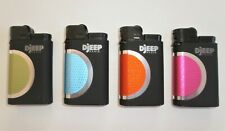 4 Djeep Paris Hot Touch Deluxe Lighters, up to 4000 lights, special deal