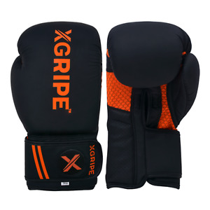 XGRIPE Boxing Gloves Sparring Muay Thai Punch Bag Training Mitt Kickboxing Fight