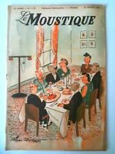 Le MOUSTIQUE de Juillet 1948   Hilaire fils et Cie