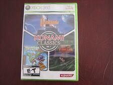 Konami Classics Volume 1 XBOX 360 NEW factory sealed Castlevania Frogger Contra