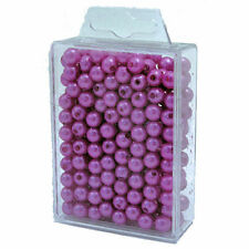 8mm craft pearls beads (x250) Lilac Purple