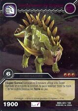 Carte Card Game DINOSAUR KING DKDS - 23 /100 GIGANTOSPINOSAURE HOLO 1900 VF