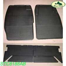 LAND ROVER RUBBER FLOOR MATS SET KIT DISCOVERY I 94-99 STC8188AB OEM