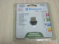 mini USB 2.0 bluetooth dongle adapter + retail package V2.0