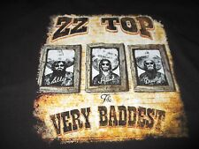 "2015 Zz Top ""Live In Concert"" Tour (3Xl) T-Shirt Billy Gibbons Beard Dusty Hill"