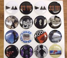 DEPECHE MODE ALBUMS Epoxy Stickers 1 inch round for Bottle Cap & Craft Projects
