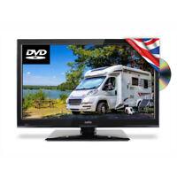 """Cello 19"""" Inch Traveller 12v / 24v TV Freeview DVD USB Inbuilt Satellite Tuner"""