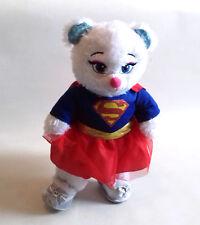 "DC Comics BUILD A BEAR FACTORY Super Girl 15"" plush soft toy, Batman, Superman"