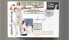 SHANE WARNE 'THE KING OF SPIN' FINAL TEST CRICKET COV 7