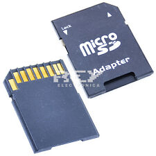 Adaptador Tarjeta MICRO SD a SD SECURE DIGITAL Nuevo v48