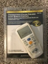 Hampton Bay Thermostatic Ceiling Fan and Light Remote Control 838956 New Sealed