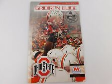 2014 OHIO STATE OSU FOOTBALL OFFICIAL GRIDIRON GUIDE BY MARATHON