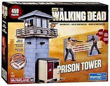 PRISON TOWER the walking dead MCFARLANE toys building set construction NEW