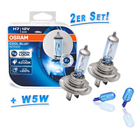 Osram H7 CoolBlue INTENSE 4200K + 2x Philips WhiteVision W5W Standlicht
