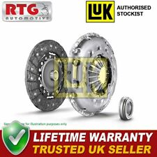 LUK 3Pc Clutch Kit w/ Release Bearing Releaser Repset 624334200