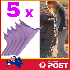 5x Portable Camping Female Her She Urinal Funnel Woman Urine Wee Loo Travel Bulk