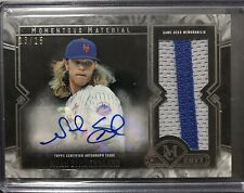 2017 Topps Museum Collection Noah Syndergaard Momentous Material Auto 13/15