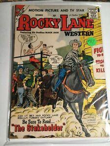 1959 ROCKY LANE Charlton Comic LOT #87 FINE/VF- Last Issue